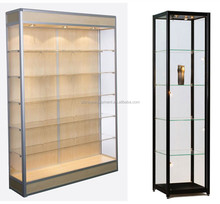 Lockable glass shoe display case for promotion gift