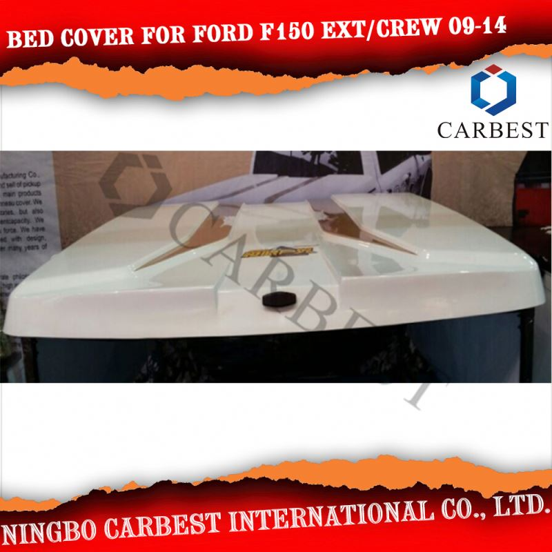 High Quality FRP Bed Cover For FORD F150 Ext/Crew Cab 5.5' Short Bed 09-14