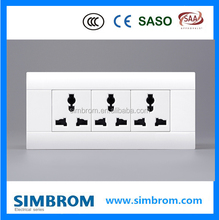 Factory Direct Fire Resistant 13 Amp Multi-Function Switch And Socket