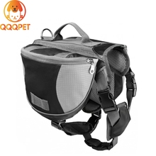 Pet training outdoor hiking carrier bag traveling dog backpack bag