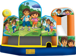 Popular New Design Dora & Diego Inflatable Bouncer for Sale