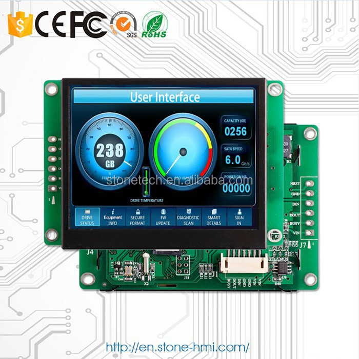 5 inch 480*272(16:9) display system control touch panel