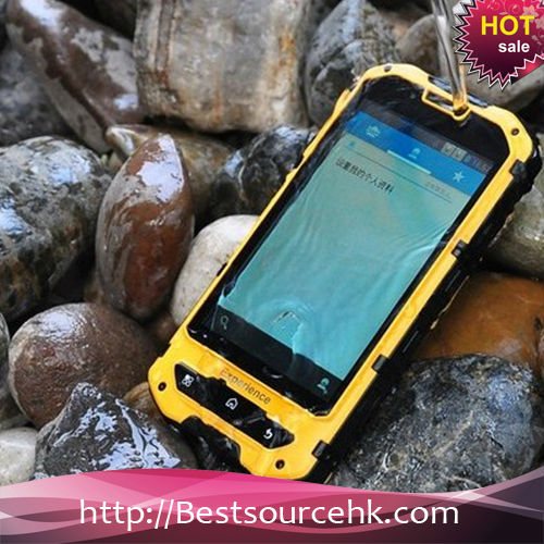 Rugged phone GPS outdoor waterproof mobile phones A2 for Land rover mobile phones with 3000mah battery