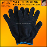 safety work cotton hand mma gloves