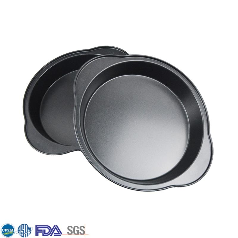 "Low Cost Round 9"" Nonstick Durable Carbon Steel Cake Pan Bakeware"