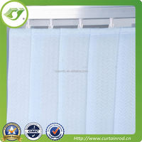Colored vertical polyester blinds for office decoration