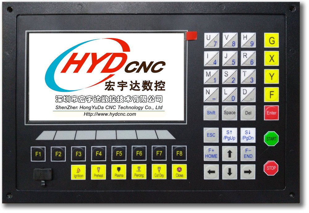 CNC controller system for plasma and flame cutting machine