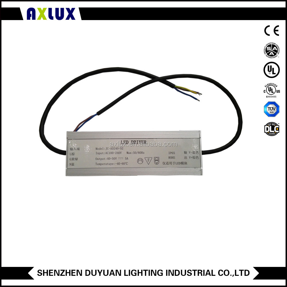 170w led driver constant current drivers power supply IP65 UL TUV CE SAA PSE