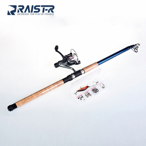 2.7m Factory Fishing Products with Fishing Rod and Reel with Fishing Accessories
