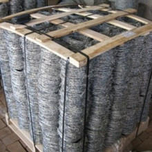 high quality low carbon galvanized barbed wire (Anping manufactirer)