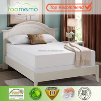 Packaging Firm Mattress Memory Foam, Diamond Aloe Vera Sleepwell High Density Foam Mattress With Elegant Cover