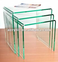 Acrylic Jewelry Display Stand Risers