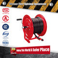 Reel cart metal two wheels garden hose reel cart for hose