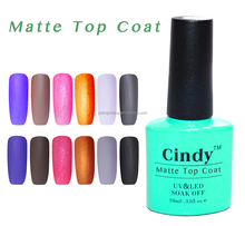 New Arrival UV/LED Clear Matte Top Coat for Nails