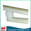 Plastic/POM gear racks with customized screws CR26050/CR27050/CR28050/CR29050/CR30050