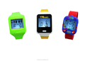 2015 kids smart watch voice recorder silicone kid watch APP interactive via ultrasonic
