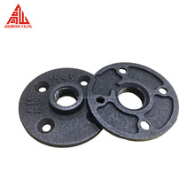 Casting Technics Black Malleable Iron Pipe Fitting Flange