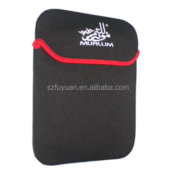 custom 12 inch neoprene laptop sleeve without zipper,laptop sleeve bag
