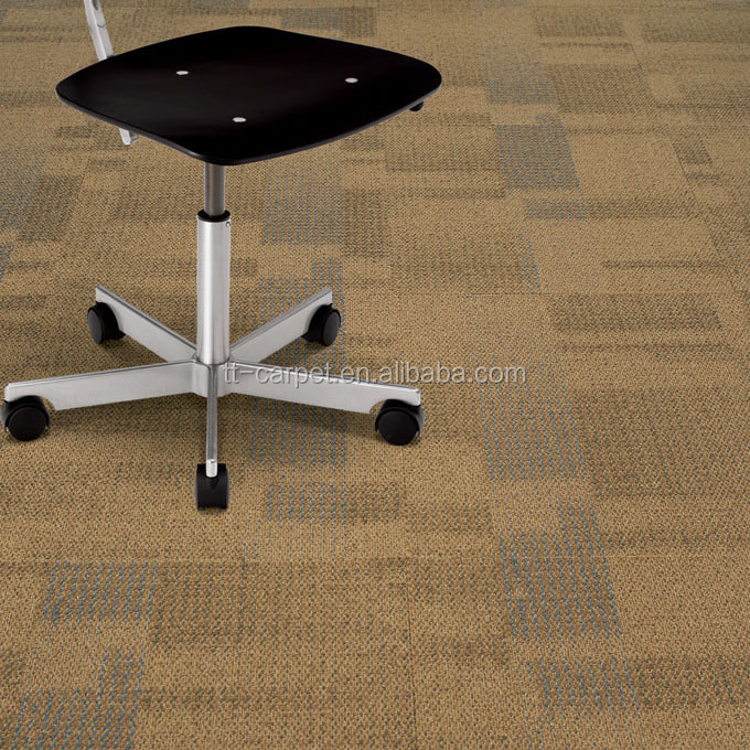 Modern Chinese Commercial Office Blue Waterproof Carpets