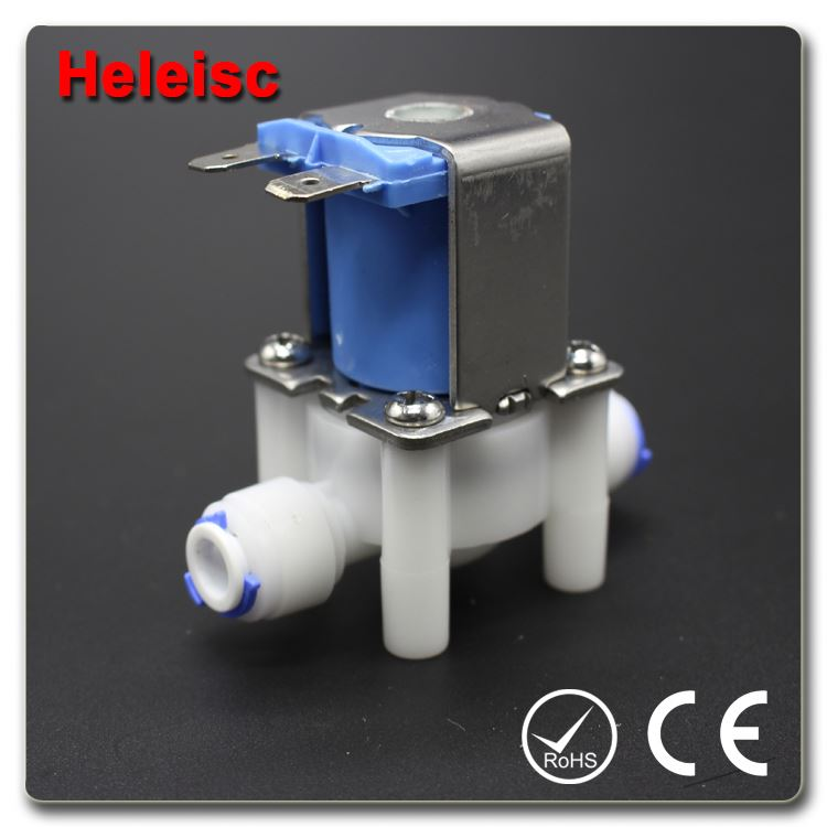 Water dispenser solenoid valve electric water valve plastic ip68 coil solenoid valve