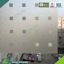 ALY2055 Removable Plastic Waterproof Cling On Window Film