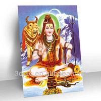 High quality 3d picture framed of hindu gods