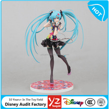Hot Sale Japanese Sexy Anime Doll Miku Pretty Nude Girl PVC Anime Action Figure