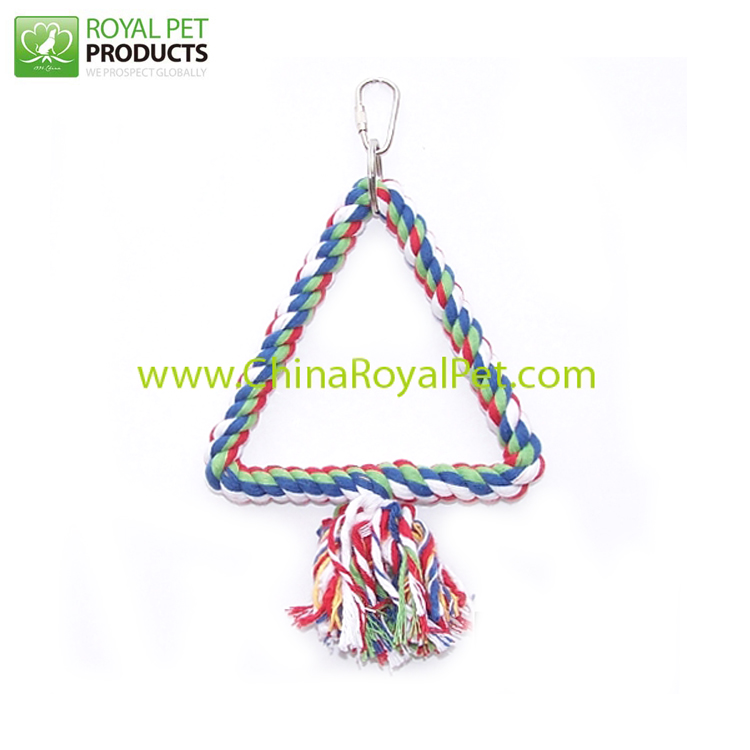 swing rope bird perch toys for small parrot entertainment