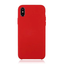 For Apple iPhone X liquid Silicone Rubber Phone Case, mobile phone cover