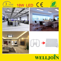 Led SAA Cerfication: Rectangular Recessed Led Ceiling Lights Led Drop Ceiling Light Fixture