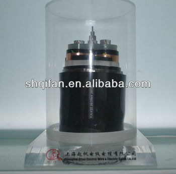 Al condctor XLPE insulation PVC jacket steel tape armored power cable
