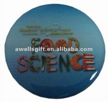 custom offset printing metal badge with epoxy dome