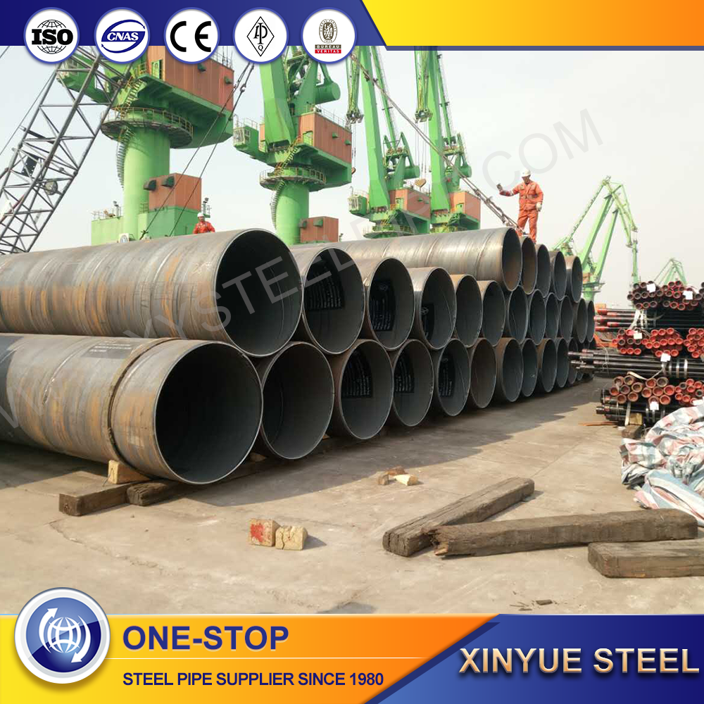HOT SELLING SSAW SPIRAL STEEL PIPE/TUBE PIL AND GAS LINE PIPE