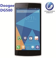 Hot sale! 5.5Inch DOOGEE DG580 Smartphone Android 4.4 MTK6582 Quad Core mini small size mobile phone dual sim