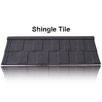 Light Weight and Easy to process aluminium curved barrel roof tiles, coated steel tile roofs