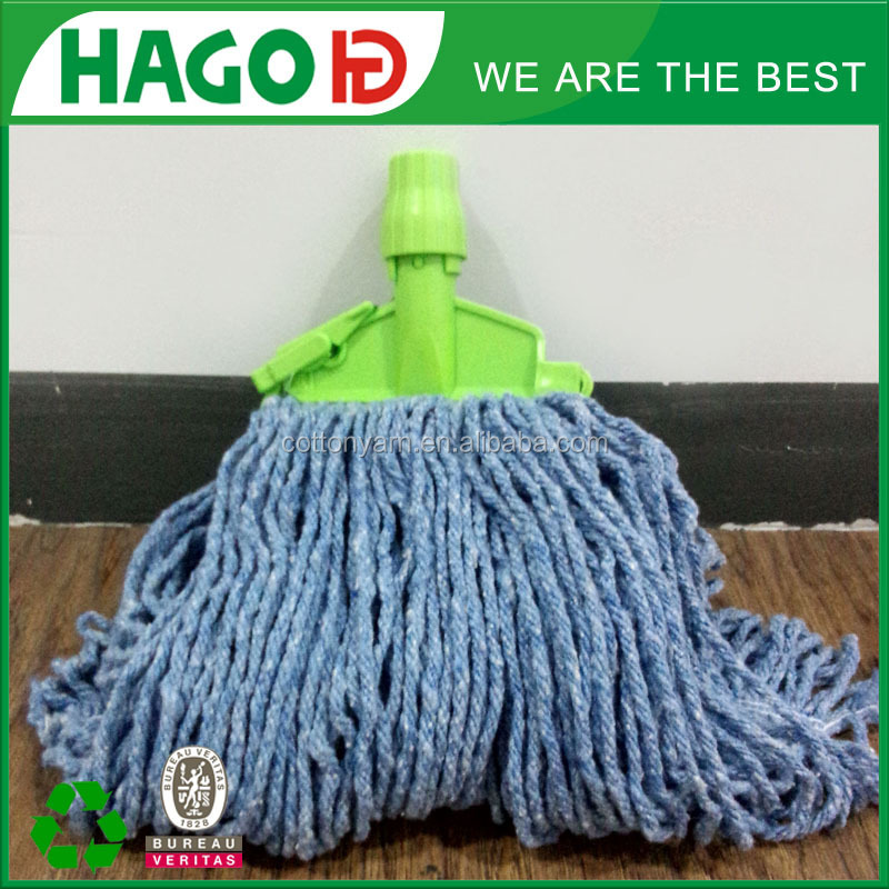 Wet Mop Pure Polyester Cut End kentucky mop head floor mop