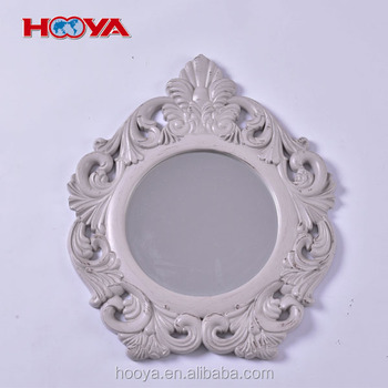 Antique European style decorative wall mirror