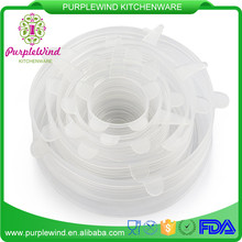 kitchen gadget 6 Pack as seen on tv silicone stretch lid