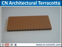 Curtain wall decoration with terracotta panel