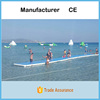 20mL*1.68mW*0.15mH Inflatable Air Tumble Track For Water Sport Games