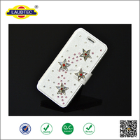 Bling Diamond Rhinestone Bow Leather Stand Case Cover For Various Mobile Phones