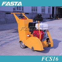 Hot factory sale 180mm,400mm gasoline and diesel engine concrete and asphalt road maintenance cutting saw machine on sale