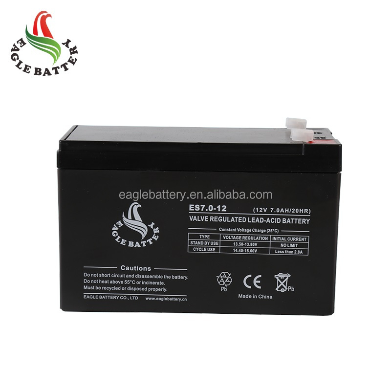 battery 12v 7ah AGM Valve Regulated Lead Acid Battery