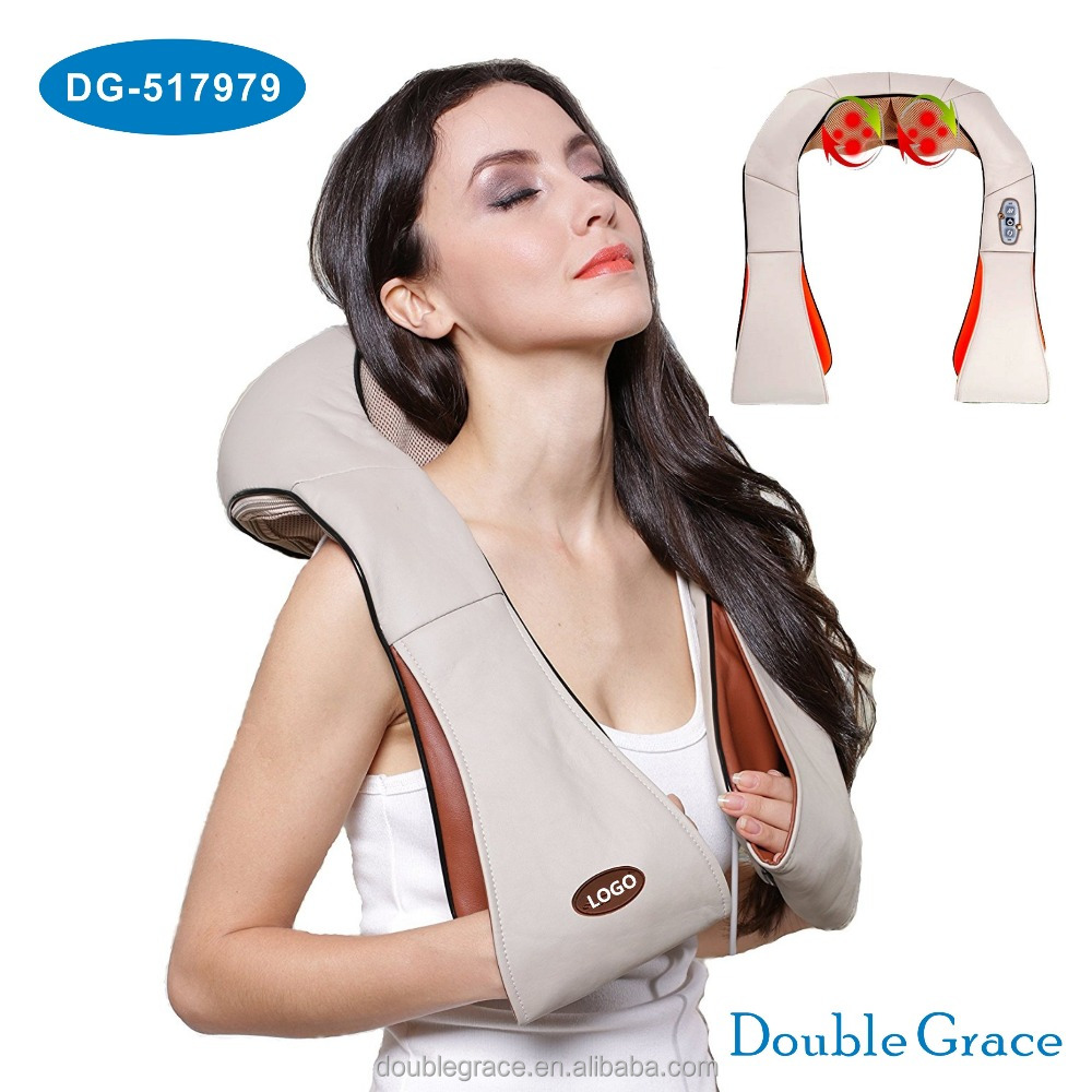 Hot Selling Electric Massager of Neck and shoulder Kneading with heat
