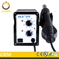 JCD mobile phone bga rework station 858D with soldering iron