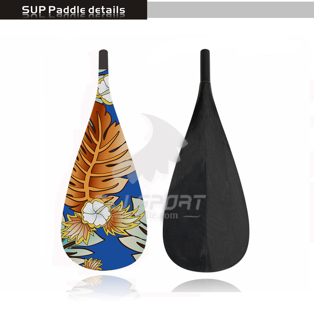 2017 Hot Sales Carbon Fiber Stand Up Paddle For SUP Paddle Boarding