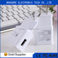 Full real 2.1A output fast Charger quick usb charger for samsung note3/n7100 s5 s6 s7 edge