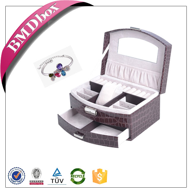 promotion gifts for vip keepsake mirrored fsd jewelry box