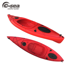 China 3m single rotomolded plastic sit in sea kayak