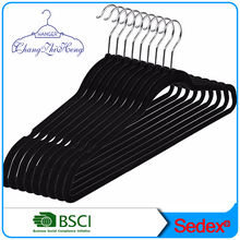 velvet black hanger of clothes rack 50 pack color box